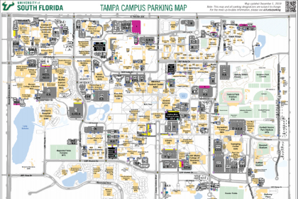 usf parking map